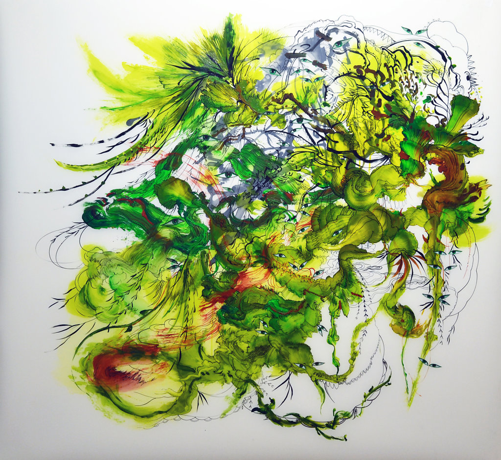 Kudzu, Invaders Green 1