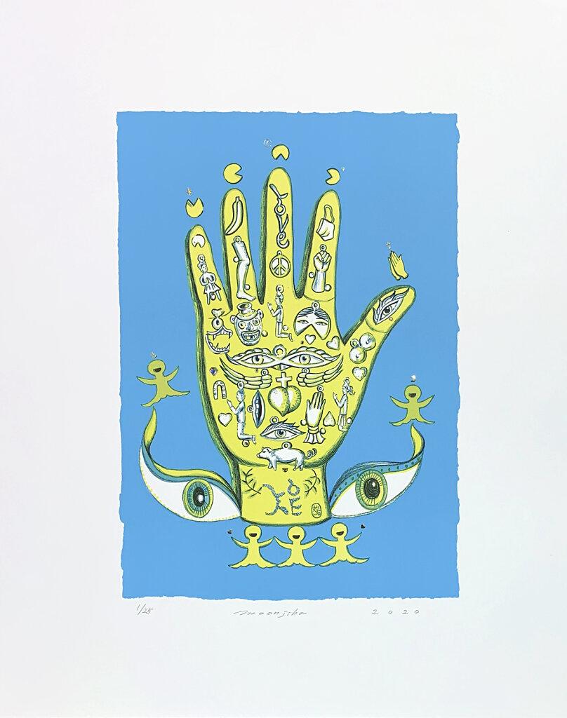 Magic Hand (Blue)